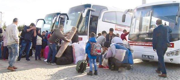 Türkiye terörden arındırdı! 30 bin kişi Tel Abyad ve Rasulayn'a geri döndü