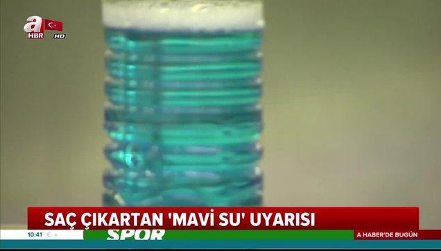 Mavi Su Nedir Ve Sac Cikartiyor Mu Saglik Bakanligi Ndan Kellige