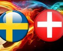 İsveç - İsviçre ne zaman oynanacak?