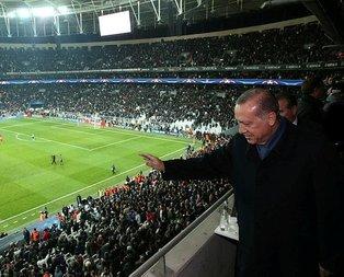 Cumhurbaşkanı Erdoğan Vodafone Parkta