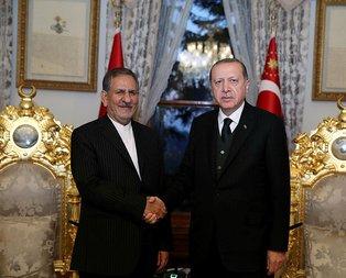 Erdoğan, İran Cumhurbaşkanı Yardımcısı ile görüştü
