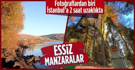 İstanbul'a 2 saat uzaklıkta! Düzce yaylalarında sonbahar renkleri hakim oldu