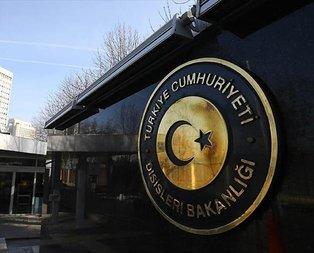 Türkiyeden ABDye ilk tepki