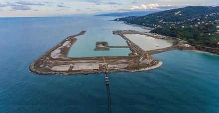 Rize-Artvin Havalimanı inşaatı tam gaz devam ediyor!