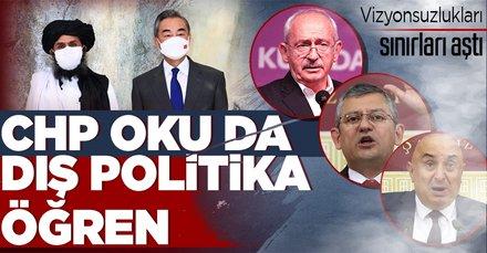 Türkiye Taliban'la nasıl görüşür diyen CHP ters köşe!