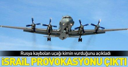 Son dakika: Rusya açıkladı: Uçağımız İsrail jetleri yüzünden Suriye hava sisteminin hedefi oldu
