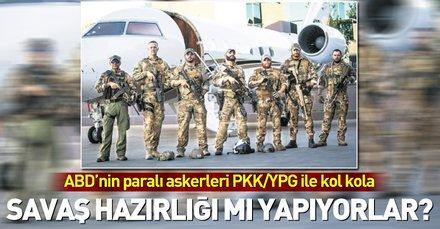 ABDnin paralı askerleri YPGnin imadına yetişti