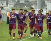 U-19'da son finalist Trabzonspor