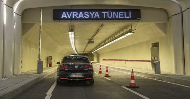 Avrasya Tüneli geçişinde indirime gidildi!