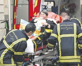 Lyon'da bombalı saldırı: 13 yaralı