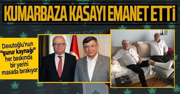 Gelecek Partisi'nin kumarbaz başkanına Davutoğlu sahip çıktı