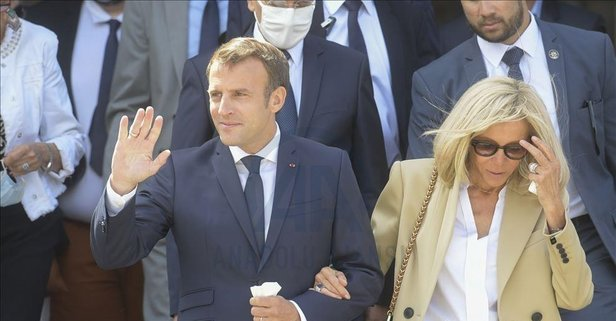 Macron'a korona şoku