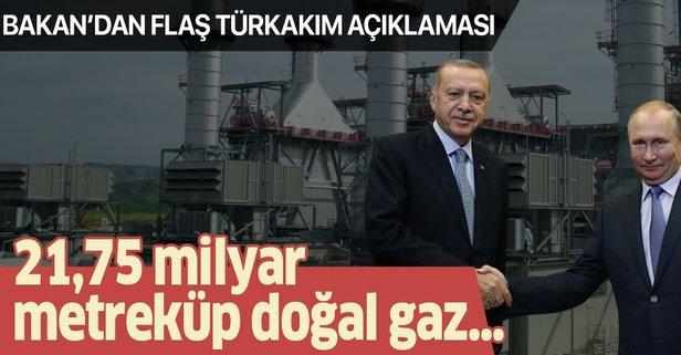 Bakan Dönmez'den flaş TürkAkım açıklaması!