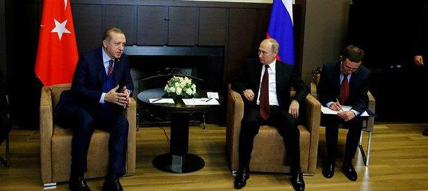 Erdoğan-Putin arasındaki önemli görüşme sona erdi