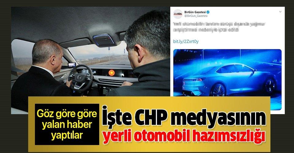 BirGün'den yerli otomobille ilgili skandal haber! Göz göre göre yalan haber yaptılar