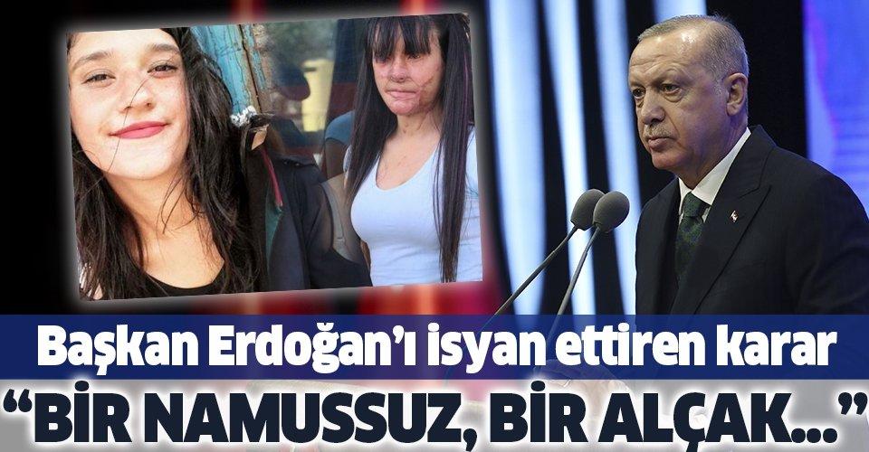 Son dakika: Başkan Erdoğan'dan Berfin Özek davasındaki karara sert tepki