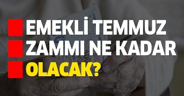 Emekli zamlı maaşı ne kadar olacak?