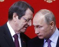 Anastasiadis, Türkiye'ye karşı Putin'den yardım istedi!