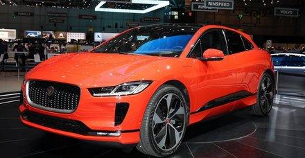 89.Cenevre Otomobil Fuarı'nda Jaguar I-PACE yılın otomobili seçildi