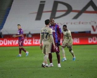 Trabzon'da gergin anlar!
