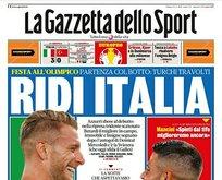 İtalya mağlubiyeti dünya basınında