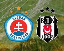 Slovan Bratislava-Beşiktaş maçı ne zaman?