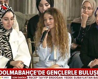 Başkan Erdoğan'ın isteğini kırmadı