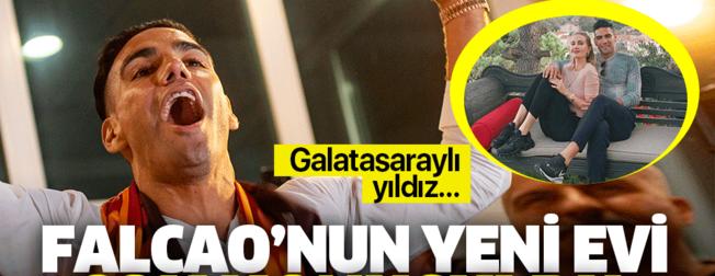 Radamel Falcao'nun İstanbul'daki evi olay oldu! Galatasaraylı yıldız...