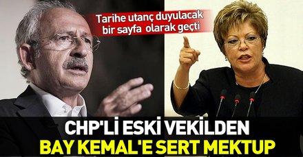 CHP'li eski vekil Canan Arıtman'dan Kılıçdaroğlu'na sert mektup: Tarihe utanç duyulacak bir sayfa olarak geçti