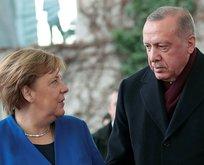 Almanya Başbakanı Merkel İstanbul'da