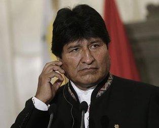 Bolivya Devlet Başkanı Morales'in istifası istendi!