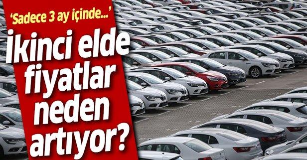 İkinci el otomobil fiyatları neden artıyor?
