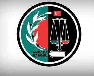 Ankara Barosunun yeni başkanı belli oldu