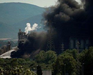 İspanya'da korkutan yangın! Binlerce kişi tahliye ediliyor