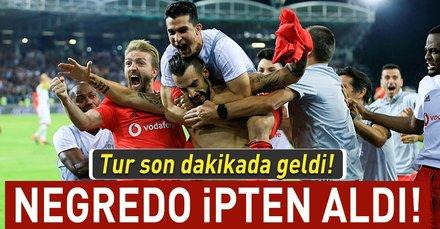 Kartal 90da turladı I LASK Linz: 2 - Beşiktaş: 1 (MAÇ SONUCU)