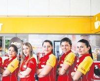'Shell'de kadın enerjisi' İzmır'de