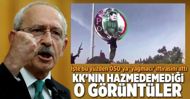 ÖSOya yağmacı diyen Kılıçdaroğlunun hazmedemediği görüntüler