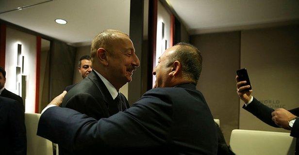 Bakan Çavuşoğlu'ndan Davos'ta kritik görüşme!