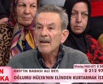 Arif'in babası Ali Bey'den şoke eden iddialar