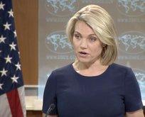 ABDli sözcü İstanbulda alınan Kudüs kararı sorusuna dondu kaldı!