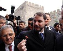 Bakan Albayrak'tan Kayseri'de esnaf ziyareti!
