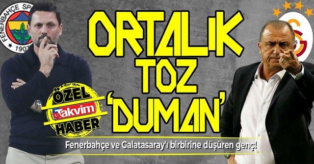 Fenerbahçe ve Galatasaray'ı birbirine düşüren genç!