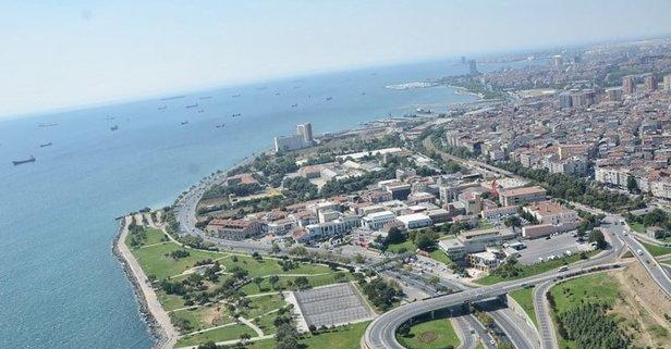 İstanbul Bakırköy'de icradan satılık 220 metrekare daire
