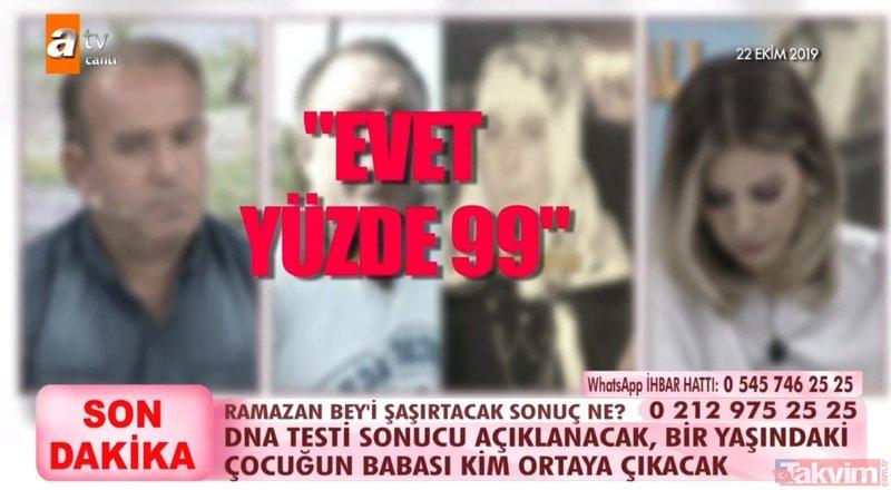 Esra Erol canlı yayında DNA sonucunu açıkladı, stüdyodakiler şoke oldu! 9 yıllık eşi dışında 2 adamla birlikte olan kadın...