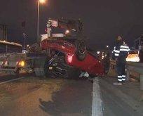 Sosyal medya fenomeni trafik kazası geçirdi