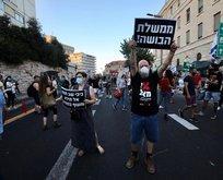 İsrail'de Netenyahu karşıtı gösteriler