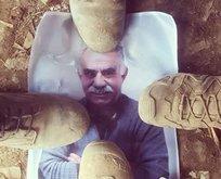 Teröristbaşının fotoğrafı ayaklar altında