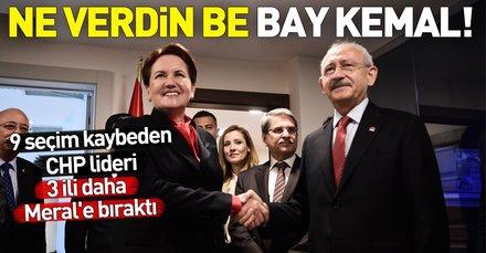 İşte CHP'nin İyi Parti'ye verdiği iller! Kılıçdaroğlu 3 ili daha bıraktı