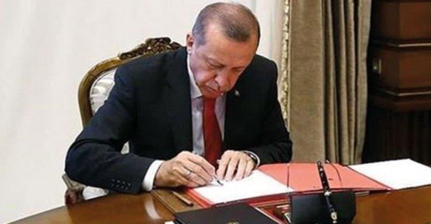 Başkan Erdoğan imzaladı! Yeni kararlar Resmi Gazete'de