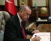 Başkan Erdoğan imzaladı! 768 yeni kadro...